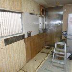 守山市Ⅰ様邸キッチン改修工事始まりました!