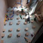滋賀県大津市N様邸事務所工事~大工工事・床の嵩上げをして段差を解消~