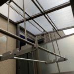 京都市伏見区A様邸内部・外部改修工事~まずはテラスの取付から始まります~